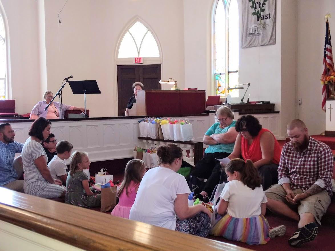 September 12-Backpack Blessing